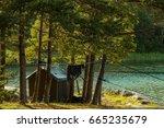 the archipelago sea is the eden ... | Shutterstock . vector #665235679
