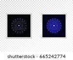 frame with shadow on a... | Shutterstock .eps vector #665242774