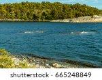 the archipelago sea is finland... | Shutterstock . vector #665248849