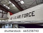 pima air   space museum  tucson ... | Shutterstock . vector #665258743