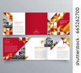 brochure design  brochure... | Shutterstock .eps vector #665262700