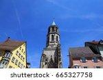 Church In Rottweil Town In...