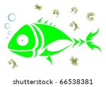 green fish   Shutterstock .eps vector #66538381