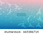 abstract line. vector abstract...   Shutterstock .eps vector #665386714