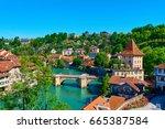 Small photo of Switzerland. The city of Bern. June 11, 2017. Beautiful views of the city of Bern.