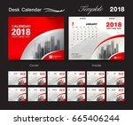 Desk Calendar 2018 Template...