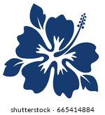 Dark Blue Hibiscus Flower....