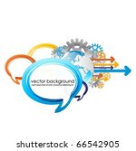 speech bubbles vector design...   Shutterstock .eps vector #66542905