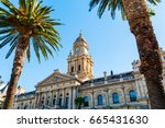 cape town city hall  south... | Shutterstock . vector #665431630