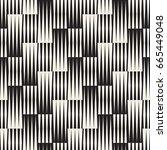 vector seamless geometric... | Shutterstock .eps vector #665449048