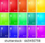 color gradient background  ... | Shutterstock .eps vector #665450758
