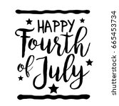 4th of july united states... | Shutterstock .eps vector #665453734