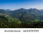 the knuckles mountain range... | Shutterstock . vector #665459290