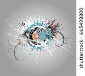 design elements set | Shutterstock .eps vector #665498800