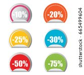 certificate emblem labels.... | Shutterstock .eps vector #665499604
