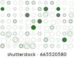 abstract background with shape... | Shutterstock .eps vector #665520580