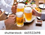 toast for beer | Shutterstock . vector #665522698