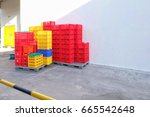 crate of supermarket