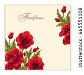 Greeting Card With Bouquet Of...