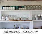 image of interior decoration... | Shutterstock . vector #665564329