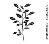naturals flowers tattoos | Shutterstock .eps vector #665595373