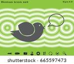 bird  icon  vector illustration ...