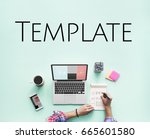 web template content layout... | Shutterstock . vector #665601580