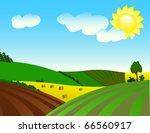 environmentally prosperous... | Shutterstock . vector #66560917
