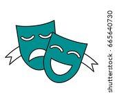 masks vector illustration   Shutterstock .eps vector #665640730