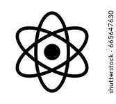 atom   Shutterstock .eps vector #665647630