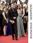 Small photo of Lara Lieto, Adrien Brody attend the 70th Anniversary screening during the 70th annual Cannes Film Festival at Palais des Festivals on May 23, 2017 in Cannes, France.