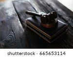 law concept with themis  symbol ...   Shutterstock . vector #665653114