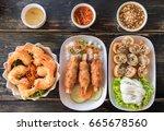 vietnamese cuisine   Shutterstock . vector #665678560