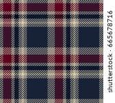 tartan seamless pattern. plaid... | Shutterstock .eps vector #665678716