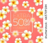 extra clearance   background... | Shutterstock .eps vector #665709184