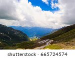 rohtang pass  manali  india   Shutterstock . vector #665724574