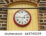 england  west yorkshire.... | Shutterstock . vector #665745259