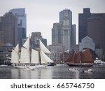 boston   june 17  2017  europa... | Shutterstock . vector #665746750
