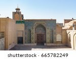 mosque in kerman | Shutterstock . vector #665782249