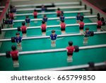 table football  players appear... | Shutterstock . vector #665799850