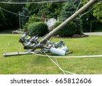 Broken Snapped Wooden Power...