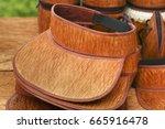 cap made from tree bark   Shutterstock . vector #665916478