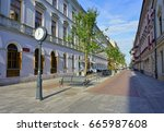 Woonerf  Lodz  Poland  June 09...