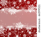 abstract winter background with ... | Shutterstock . vector #66599521
