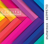 colorful abstract background | Shutterstock .eps vector #665995753