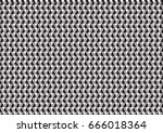 abstract gray black woven... | Shutterstock .eps vector #666018364
