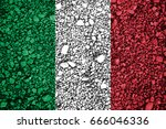 flag of italy | Shutterstock . vector #666046336