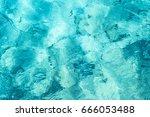 Transparent Turquoise Sea Wate...