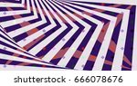 geometric pattern color... | Shutterstock . vector #666078676