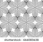 flower pattern vector ...   Shutterstock .eps vector #666083638